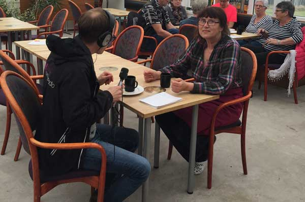 Birgitta Mossby Andersson intervjuad av Jon Koldenius