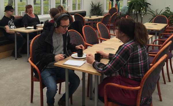 Jon Koldenius intervjuar Birgitta Mossby Andersson